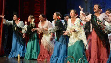 Photo of El teatro El Tronío se llenó para presenciar la tercera semifinal  del Carnaval de Gines