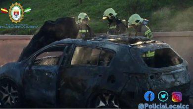 Photo of El incendio de un coche en las inmediaciones de AireSur crea una gran columna de humo en el Aljarafe