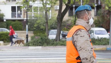 Photo of El Ejército del Aire se despliega en Mairena para ayudar en la lucha contra el coronavirus