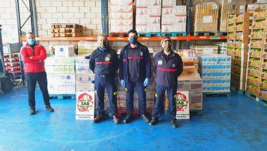 Photo of Los bomberos de Sevilla donan más de 6000 kilos de alimentos para hacer frente a la crisis del Covid-19