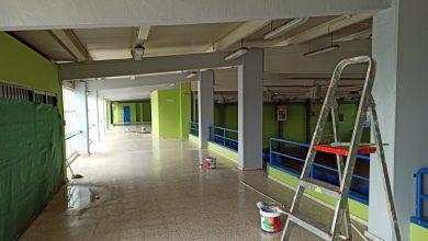 Photo of El Ayuntamiento de San Juan aprovecha el confinamiento para reformar el polideportivo