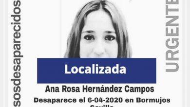 Photo of Localizada en buen estado la menor de Bormujos