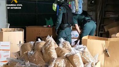 Photo of La Guardia Civil intercepta 34.800 kilos de tabaco de contrabando en el Aljarafe