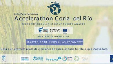 Photo of Coria del Río inaugura el primer Accelerathon de innovación sobre economía circular en la paja del arroz