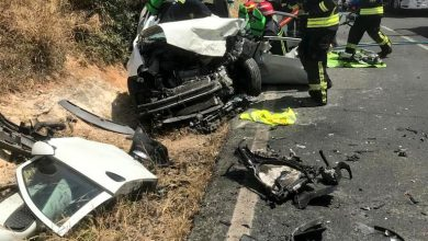Photo of Tres heridos en un accidente en la carretera entre Almensilla y Bollullos de la Mitación