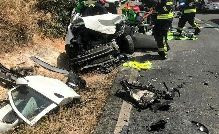 Photo of Tres heridos en un accidente en la carretera entre Almensilla y Bollullos de la Mitación