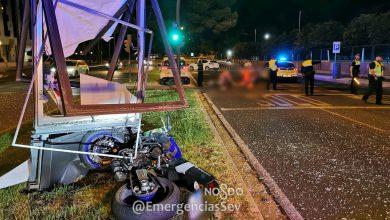 Photo of Fallece un joven motorista de 22 años en la avenida Alcalde Luis Uruñuela de Sevilla