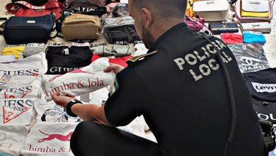 Photo of Golpe a la falsificación en el mercadillo de Castilleja