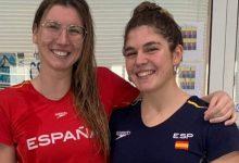 Photo of Las nadadoras del Club Natación Mairena Paula Ruiz y María Claro con la vista puesta en los JJOO de Tokio 2021