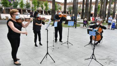 Photo of Cuatro tomareños de la Real Orquesta Sinfónica homenajean a los profesionales que han combatido al Covid-19