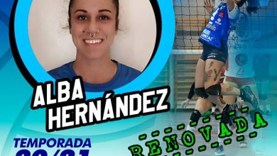 Photo of Alba Hernández renueva con el Mairena Voley Club
