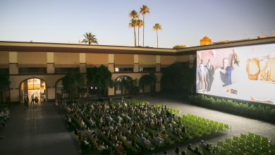 Photo of Casi 19 mil espectadores han participado en el cine de verano del patio de la Diputación