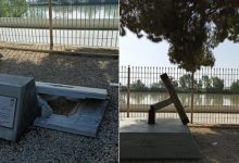 Photo of Destrozan el monumento 'Yashiro en Orilla' de Coria