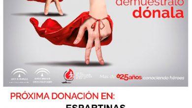 Photo of Espartinas organiza una campaña de donación de sangre