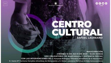 Photo of Benacazón inaugura el Centro Cultural Rafael Laureano este viernes