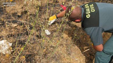 Photo of La Guardia Civil investiga a un varón por un incendio forestal en la Sierra Norte