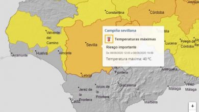 Photo of Aviso naranja por altas temperaturas en la provincia de Sevilla