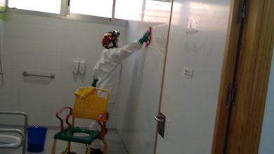 Photo of Las imágenes del segundo día de limpieza en Mater et Magistra de Mairena del Aljarafe
