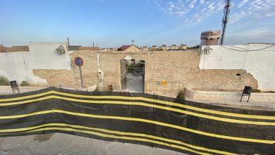 Photo of Comienzan las obras de remodelación del acceso al Cementerio  Municipal de Gines