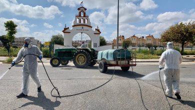 Photo of Gines intensifica las tareas de desinfección de las calles y parques de la localidad