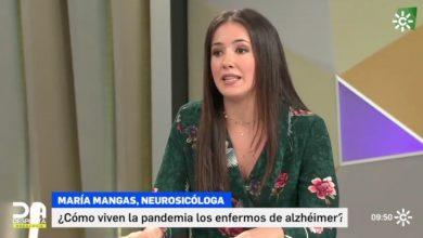 Photo of María Mangas: «El confinamiento ha sido muy doloroso y muy complicado para los enfermos y familiares de Alzheimer»