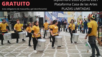 Photo of Juventud pone en marcha talleres de batucada y muralismo en septiembre