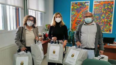 Photo of Bormujos entrega 3.400 mascarillas al alumnado de secundaria y bachillerato