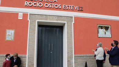 Photo of La Biblioteca de Gines lleva ya el nombre de Rocío Ostos Estévez