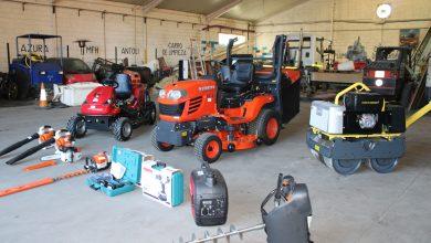 Photo of Nueva maquinaria para mejorar el mantenimiento de los parques y áreas libres de Gines