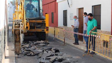 Photo of Comienzan las obras de mejora y acondicionamiento de la calle Manuel de Falla de Gines