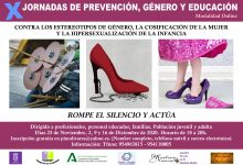 Photo of Olivares desarrolla las X Jornadas de Prevención, Género y Educación