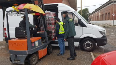 Photo of La Guardia Civil de Sevilla recoge 4000 kilos de alimentos en una campaña interna