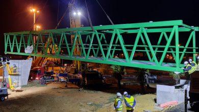 Photo of La Junta inicia el traslado y montaje de la pasarela del PISA en Mairena