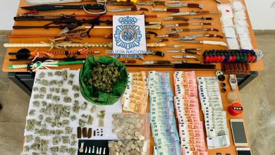 Photo of La Policía Nacional desmantela en Coria un punto de venta de drogas