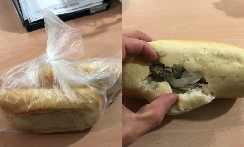 Photo of Se salta el cierre perimetral y lo intercepta la Policía con droga escondida en una pieza de pan