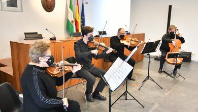 Photo of La Navidad Barroca y Romantica llega a Tomares de manos del cuarteto de cuerda de La Ross, Tomares String Quartet