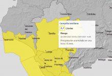 Photo of Alerta amarilla en el Aljarafe por fuertes lluvias y vientos