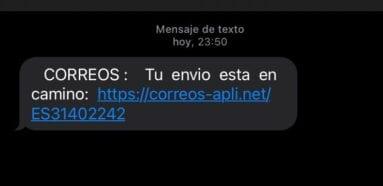 """Photo of La Policía Nacional alerta de una campaña de """"smishing"""" que suplanta a Correos"""