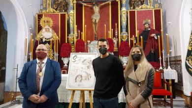 Photo of Presentado el cartel de la Semana Santa de Gines 2021, obra del artista David Paredes