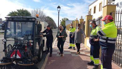 Photo of El Servicio Municipal de Limpieza de Gelves cuenta con dos nuevas barredoras articuladas