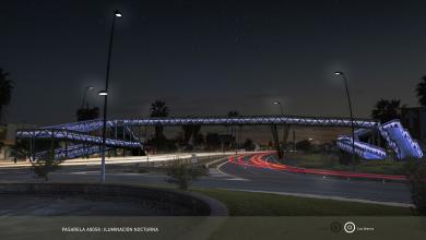 Photo of Comienza la cimentación de la pasarela peatonal sobre la Autovía de Coria