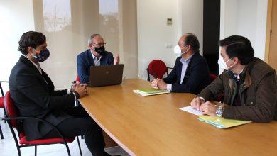Photo of Zamora expone al nuevo gerente del consorcio de Transportes las demandas de San Juan