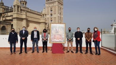Photo of La Casa de la Provincia acoge la presentación del Cartel de la Semana Santa de Huévar del Aljarafe