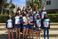 Photo of Campeonas en categoría femenina y subcampeones de Andalucía absoluta. Los alevines del Club Natación Mairena brillaron en Cádiz