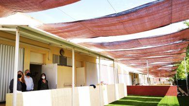 Photo of Bormujos instala toldos en los colegios para garantizar actividades al aire libre de los grupos Burbuja