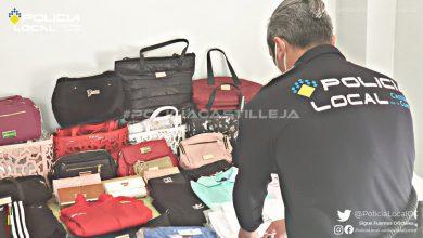 Photo of Intervenidas casi cien prendas falsificadas que se vendían en el mercadillo de Castilleja de la Cuesta
