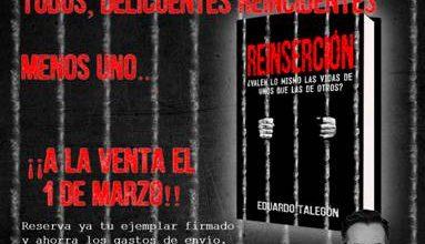 Photo of Eduardo Talegón abre el debate de la reinserción en su nuevo libro