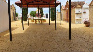 Photo of El Ayuntamiento de Espartinas remodela la entrada del cementerio San Fernando