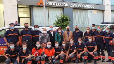 Photo of El Ayuntamiento de Espartinas visita protección civil de Bormujos para conocer el funcionamiento del servicio
