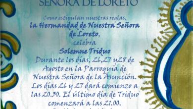 Photo of Triduo en honor al Venerado Simpecado de Nuestra Señora de Loreto